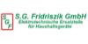 Kundenlogo von S.G. Fridriszik GmbH Ersatzteile für Haushaltsgeräte