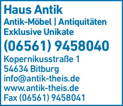 Anzeige Haus Antik Antik Möbel & Antiquitäten