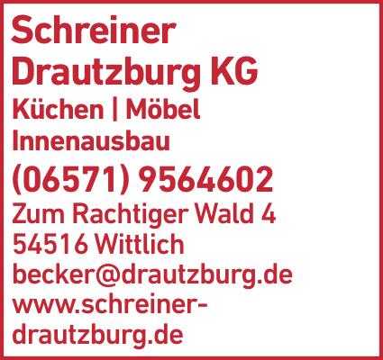 Anzeige Schreiner Drautzburg KG