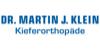 Kundenlogo von Klein Martin J. Dr. Kieferorthopäde