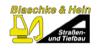 Kundenlogo von Blaschke & Hein Straßen- und Tiefbau GmbH