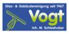 Kundenlogo von Vogt Gebäudereinigung Inh. Jörg Schleehuber Gebäudereinigung