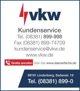 Anzeige illwerke vkw AG